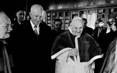 Pope Saint John and President Eisenhower