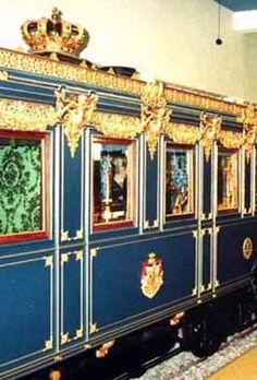König Ludwig II train coach