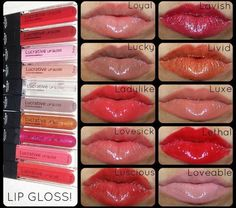 Collect all ten vibrant shades of our highly-pigmented lip gloss and you'll see why Younique Lucrative Lip Gloss is the product on everyone's lips. From Luscious to Lavish, all the way to Lethal, there's a spread of bright and bold colors fit for any occasion. Get yours at www.youniqueproducts.com/lifeofbeauty