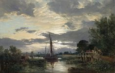 Samuel Bough - The Tow Path [1856] | Samuel Bough (Carlisle,… | Flickr