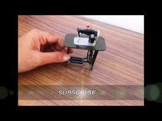 How to make miniature sewing machine