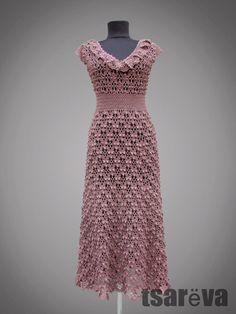 Crochet dress Marinella.