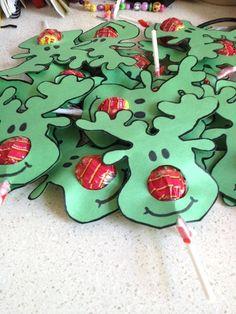 Reindeer Christmas Lollipop