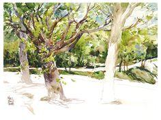Marc Taro Holmes tree painting tips