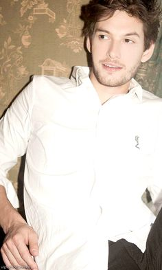 Ben Barnes (Did the white shirt blind anyone else?)