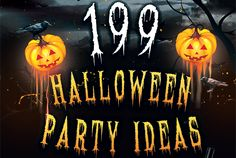199+ Halloween Party Ideas!! Havent checked it out yet, but there has to be at least something good!