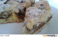 Koláč ze zakysané smetany s tvarohem a povidly French Toast, Muffin, Breakfast, Food, Morning Coffee, Essen, Muffins, Meals, Cupcakes