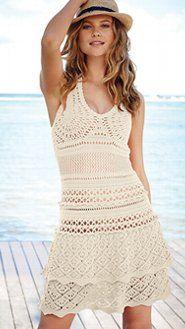 Crochet Sundress_Victoria's Secret  for inspiration