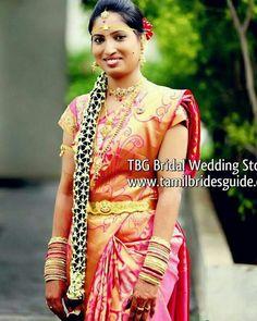 bridal jewelry for the radiant bride Red Wedding Gowns, Indian Wedding Bride, Telugu Wedding, Hindu Bride, Wedding Silk Saree, South Indian Bride, Asian Bridal Wear, Indian Bridal Makeup, Blouse Designs Silk