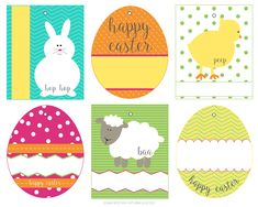 Free Easter Basket Gift Tags - Capturing Joy with Kristen Duke