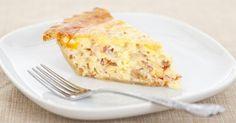 Recette de Quiche lorraine minceur au fromage blanc 0%. Facile et rapide à réaliser, goûteuse et diététique. Ingrédients, préparation et recettes associées.