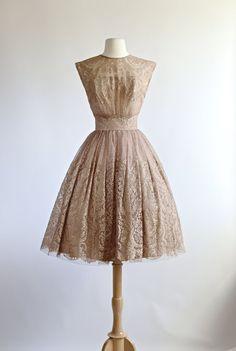 c28568e98b3e Vintage Party Dress 1950's Vintage 1950s Dresses, Vintage Outfits, Robes  Vintage, Vintage Clothing