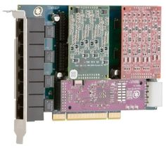 Digium TDM860B card by Digium. $646.53. The TDM860B is an 8-port analog telephony interface card. It is a half-length, full-height 32-bit 33MHz PCI 2.2-compliant, 8 port modular analog telephony interface card.TDM800P / (2) S100M (1) X400 Bundle (6 FXS and 0 FXO ports)Analog card that supports 6 FXS station and 0 FXO office interfaces for connecting analog telephones and lines through a PC. Full-length 32-bit 33MHz PCI 2.2-compliant . The VoiceBus technology, as first introduced...