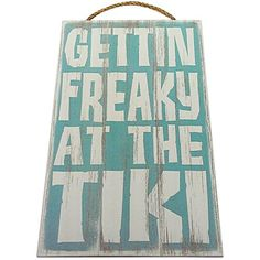 Amazing offer on Gettin Freaky The Tiki Vintage Wood Sign Tiki Bar Wall Decor Or Gift - Perfect Tiki Tiki Bar Signs, Tiki Bar Decor, Home Bar Decor, Pool Signs, Patio Signs, Barbacoa, Outdoor Tiki Bar, Outdoor Bars, Kitchen Wall Design