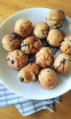 Greek yoghurt and honey blueberry muffins! I prepared this recipe from http://bakerbynature.com/ and it was the perfect Saturday breakfast!