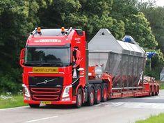 Volvo FH speciaaltransport uitschuiftreler