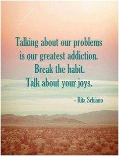 Talk about joy. Refocus