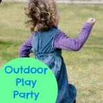 Learning for Life: Outdoor Play Party - Crate Fun!