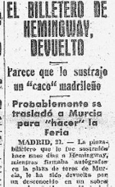 Murcia, Event Ticket, Antique Photos