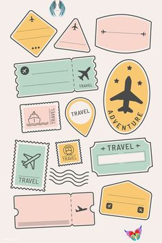 #travel   #stickers travel stickers, travel hacks, travel journal travelers notebook, travel wallpaper, travel doodles, travel scrapbook, travel bag, travel backpack, travel dibujos, travel with friends, places to travel, travel quotes wanderlust, travel icon, travel tattoo small, travel journal ideas, amsterdam travel, travel wallpaper iphone, adventure travel, travel destinations, travel instagram stories, time travel, travel tattoo, europe travel, canada travel, bullet journal travel… Homemade Stickers, Diy Stickers, Sticker Ideas, Bullet Stickers, Image Stickers, Free Printable Stickers, Kawaii Stickers, Bullet Journal Art, Bullet Journal Inspiration
