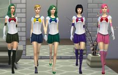 Anime Collection - Sailor Moon 2 - Los Sims 4