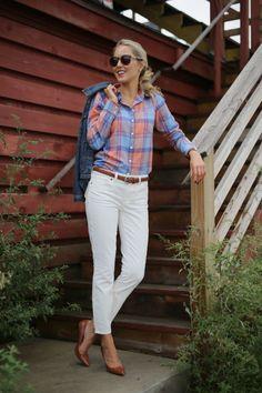 Flannel Shirt for girls street style work wear