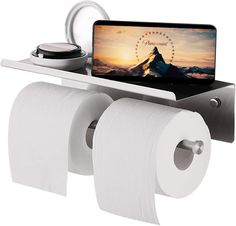 Double Toilet Roll Holder, Bathroom Toilet Paper Holders, Paper Plate Crafts, Washroom, Bathroom Shelves, Liquid Soap, Brushed Stainless Steel, Bath Accessories