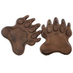 Bear Paws Stepping Stones // For a Baylor backyard. #SicEm