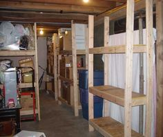 Cheap, Easy-to-Build Storage Shelves