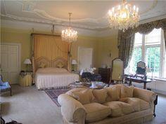 Hotel room at Glenapp Castle, Scotland