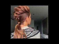 Mohawk Braid by Sarah Angius - YouTube