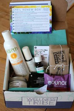 Wellness Tribe Subscription Box Review + Coupon - April 2016 - Check out my review of the April 2016 Wellness Tribe subscription box!