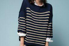 Camille, pétillante blogueuse du blog DIY Like a Bobo, vous propose 7 modèles de pulls à tricoter si vous êtes fan de marinière !