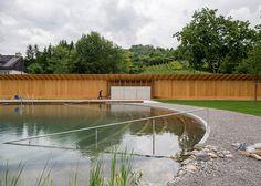 Biofiltered Public Pool in Switzerland by Herzog & de Meuron Architects | Gardenista