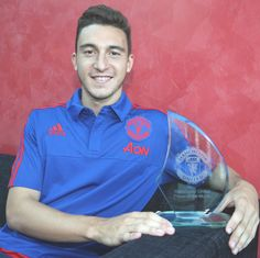 Matteo Darmian - United's player of the month for August 2015