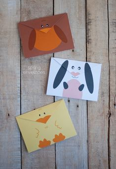 Free Printable Spring Envelopes