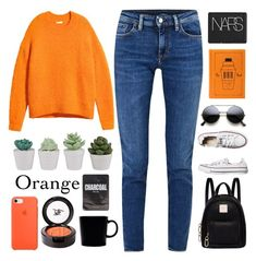 """Oranges"" by pure-vnom ❤ liked on Polyvore featuring Acne Studios, NARS Cosmetics, Fiorelli, Converse, Beauty Is Life and iittala"