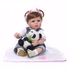 Reborn Baby Girl, Reborn Babypuppen, Baby Girl Dolls, Baby Doll Clothes, Reborn Baby Dolls, Baby Girl Newborn, Silikon Wiedergeborene Babys, Baby Doll Eyes, Silicone Reborn Babies