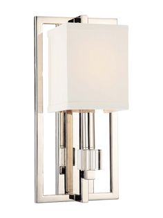 Crystorama 1-Light Sconce