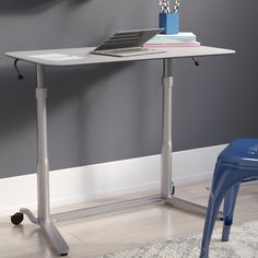 Groovy Luxor Standing Desk With Casters Products I Love Download Free Architecture Designs Grimeyleaguecom