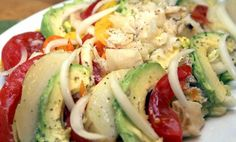 Bacalao (Saltcod Salad).    Love me some bacalao with verdura. That was our lunch.