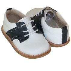 Elephantito Navy White Saddle Shoes