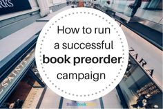 How to run a successful book preorder campaign