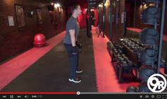"""Anytime you use weights during your workout it is paramount that you use the correct form!  On Wednesday, 25th (tomorrow), 9Round's Station 2 workout involves squats with dumbbells; so in this week's video tip (http://youtu.be/tPyFNkNegqc) Shannon """"The Cannon"""" Hudson demonstrates the PROPER technique so that you can review it BEFORE tomorrow's workout, ensuring you maximize Station 2's effectiveness.  Enjoy!  http://youtu.be/tPyFNkNegqc  #9Round #SquatsWithDumbbells #CouplesChallenge"""