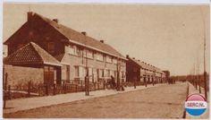 Amersfoort: De pas aangelegde Edisonstraat in 1932