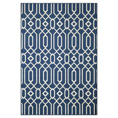 Indoor/outdoor rug with a trellis-inspired motif. Made in Egypt.  Product: RugConstruction Material: 100% Polypr...