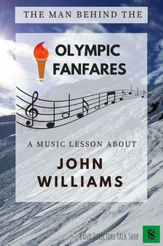 Teachers, are you looking for a fun music lesson or activity to celebrate the upcoming winter Olympic Games? This John Williams sub plan is for you! Your students will love learning about the life of famous composer, John Williams and hearing the music listening portion of the lesson that includes some of his well-known Olympic Fanfares! This activity would make a great music sub lesson plan for upper elementary music students and beginning band, choir, or orchestra.A fun winter music…