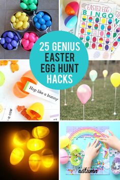 25 genius Easter egg hunt ideas and hacks: how to make it fair for little kids and fun for teens. #easter #eastercrafts #eastercrafts #easterrecipes #easterrecipes