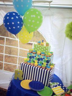 First Birthday Cupcakes... :-)