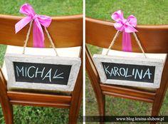 Wedding chairs / Kraina Ślubów / fot. Ewa Wardęga